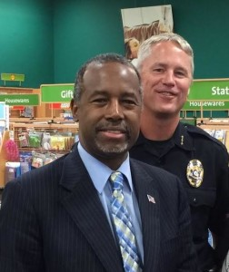 Ben Carson - VIP Protectection by Eagle Protective Group 10/21/2015