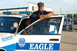 Dallas parking lot security by Eagle Protective Group